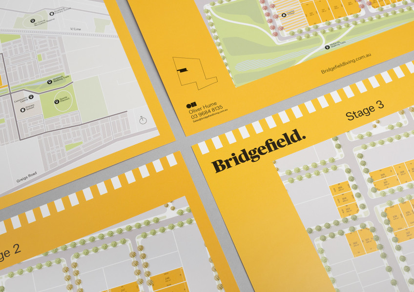 Bridgefield Stage Brochures