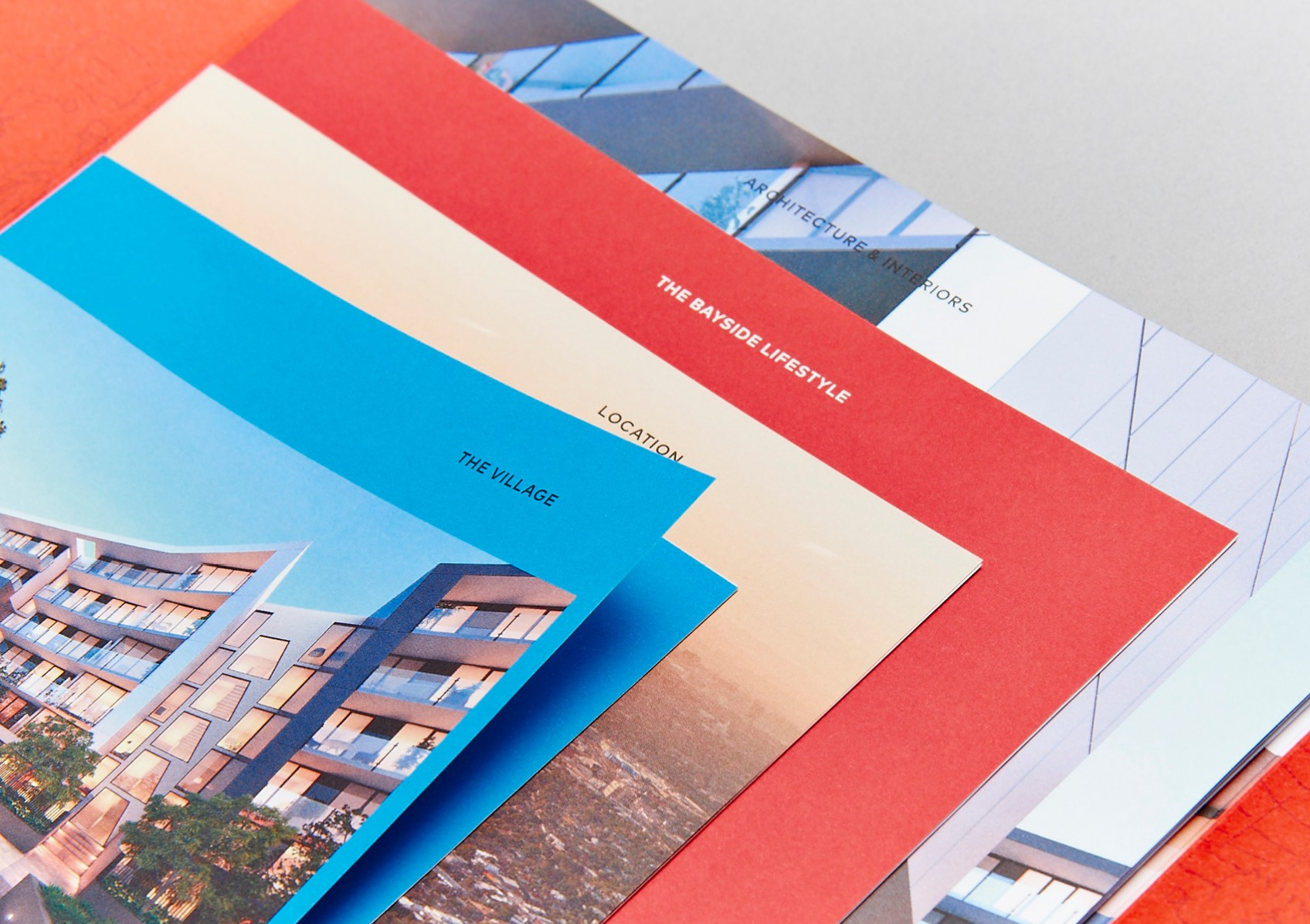 The Village Cheltenham, project brochure