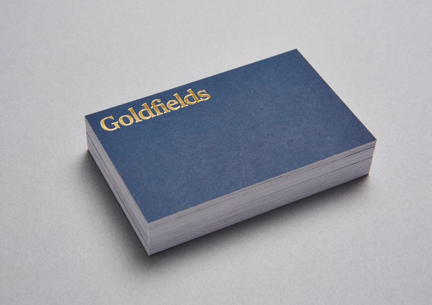 Goldfields Business Cards
