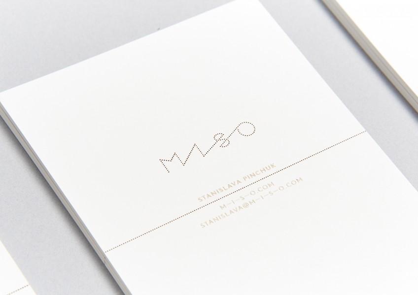 Stanislava Pinchuk, MISO, business card