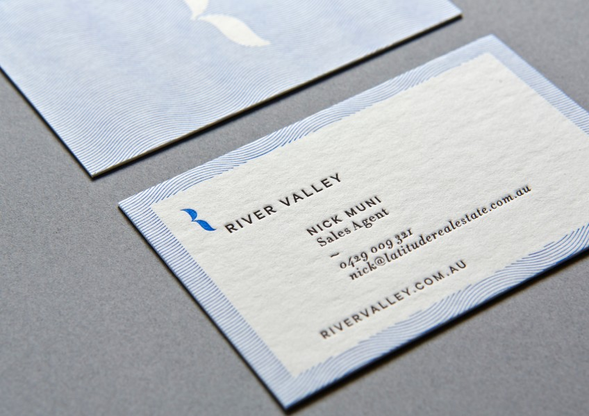 River Valley business cards
